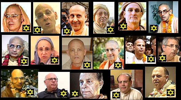 The JBD - 'Jewish Background Devotees' Demographic in ISKCON Leadership